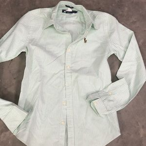Ladies Slim Ralph Lauren Button Down